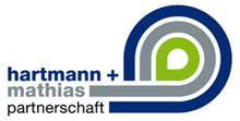 Logo: Hartmann + Mathias Partnerschaft
